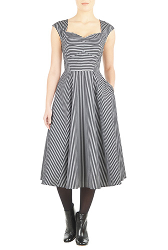 eShakti Womens Amelia dress $79.95 AT vintagedancer.com