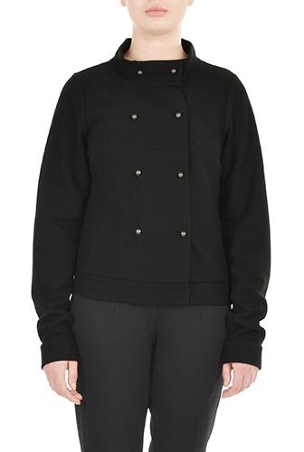 eShakti Womens Rib knit bomber jacket $69.95 AT vintagedancer.com
