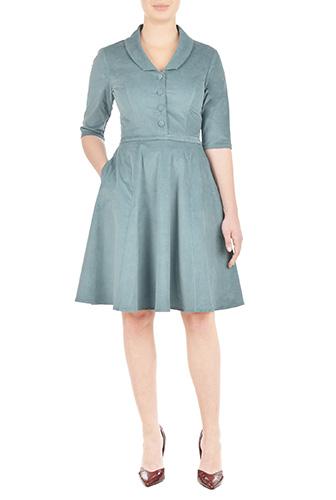 eShakti Womens Isabel dress $104.95 AT vintagedancer.com