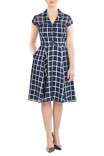 eShakti Womens Isabel dress $79.95 AT vintagedancer.com