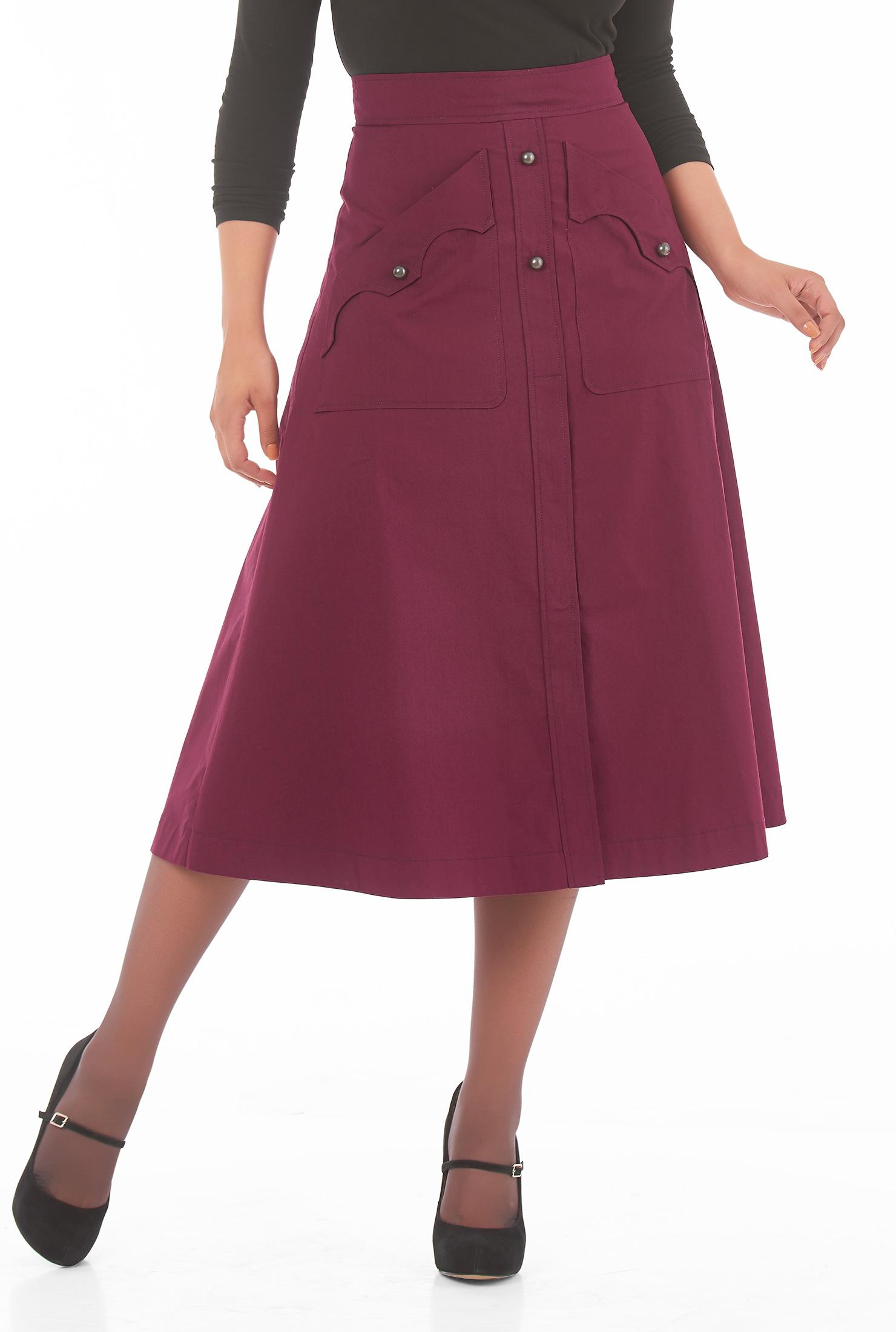 Plus Size Western Skirts And Dresses | Saddha