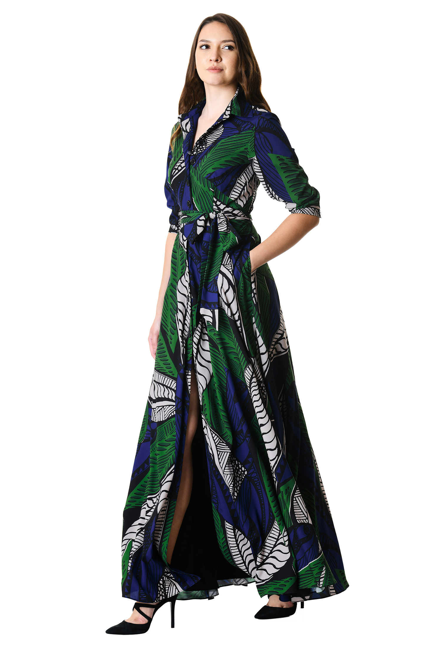 , ABSTRACTS AND GRAPHICS, day dresses, Fall dresses, Fit and flare dresses, maxi dresses, print dresses, retro modern dresses, shirtdresses