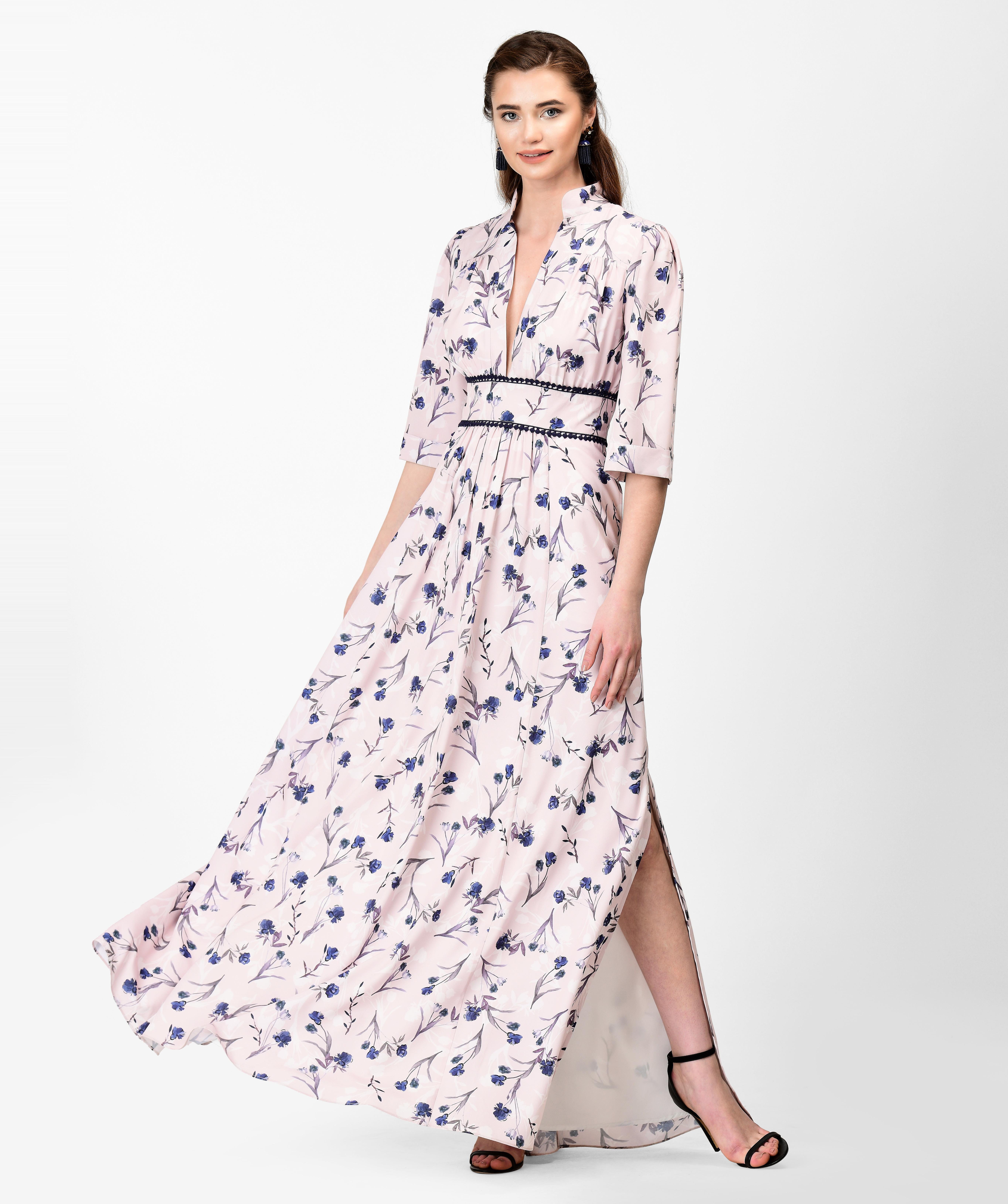 Tall Plus Size Maxi Dress - raveitsafe